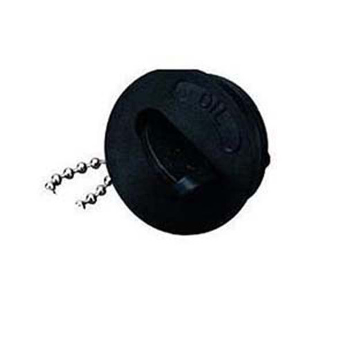 Sea Dog Replacement Deck Fill Waste Cap- Black