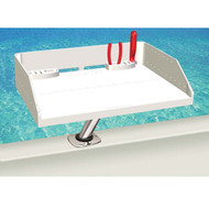 "Tournament Series Bait & Filet Table w/ ""LeveLock"" Rod Holder Mount"