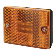 Optronics LED Stud Mount Trailer Marker Light with Reflex