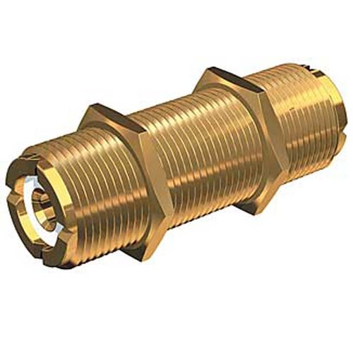 Shakespeare Gold Plated Bulkhead Mountable Marine Barrel Connector