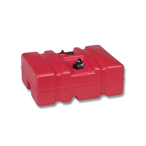 Moeller Marine 12 Gallon Topside Fuel Tank with Low Profile
