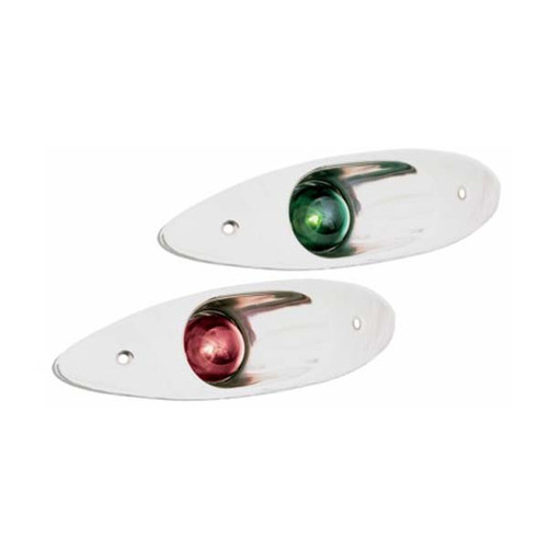 Sea Dog Stainless Steel Flush Mount Side Navigation Lights