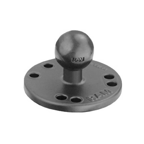 "RAM 2.5"" Dia. Base With 1"" Ball"