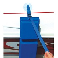 Hull Hugr Nylon Boat Fender Straps with Suction Cup Mounts