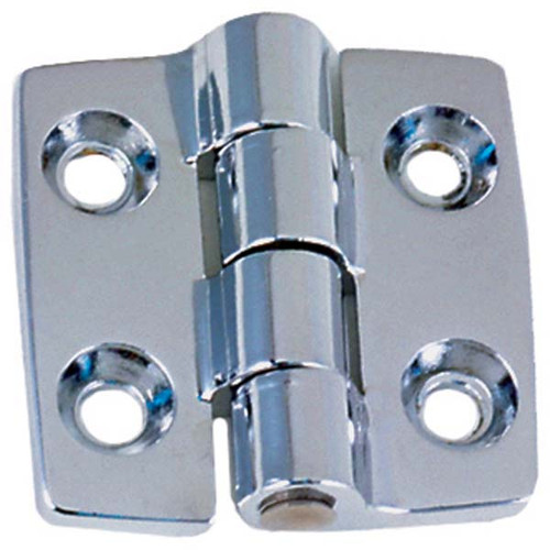 Perko Chrome Surface Mount Cabinet Butt Hinge - Pair