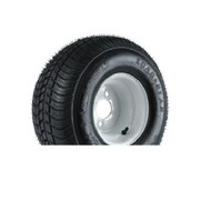 "Loadstar 205/65D10 5 Lug 10"" Bias Trailer Tire - White"
