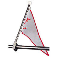 Sea-Dog Stainless Steel Rail Mounted Flag Pole