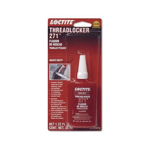 Sierra 37479 Threadlocker 271- Heavy Duty Red Replaces 26-8M0062773