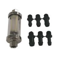 moeller universal inline glass view fuel filter /(3//8, 5//16,