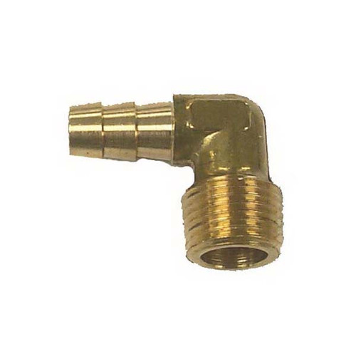 Sierra 18-8072 Brass Fuel Elbow 90° 3/8""