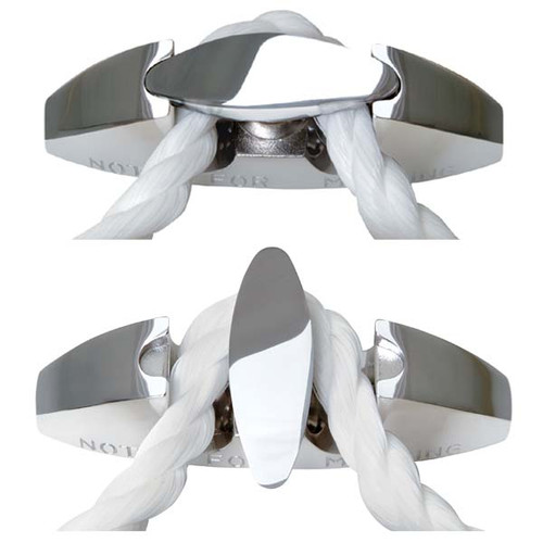 Stainless Steel Fender Cleats, 2 Pack