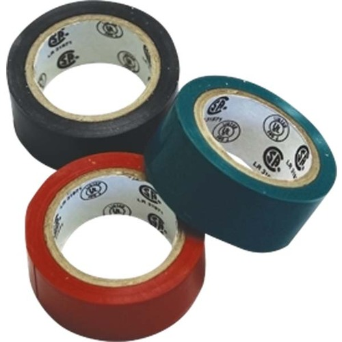 Sea Sense Electrical Tape 3 Pack - Red, Black, Green