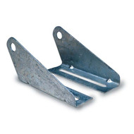 Boat Trailer Roller Split Panel Brackets, Galvanized