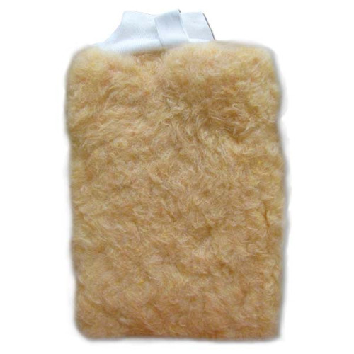 Starbrite Wool Wash Mitt with Mesh Backside