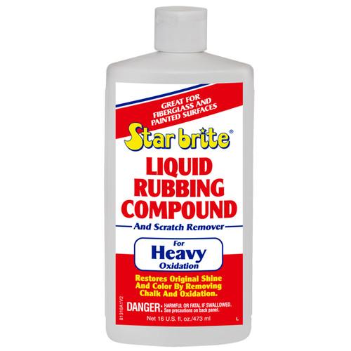 Starbrite Liquid Rubbing Compound for Heavy Oxidation