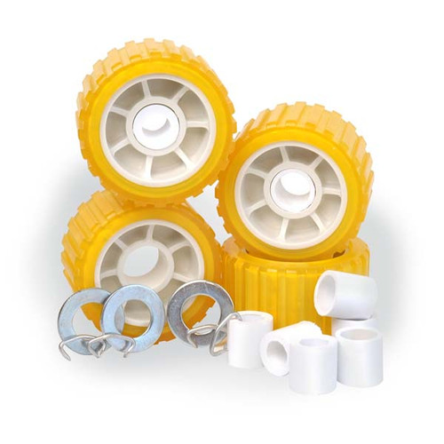 Poly Vinyl, Non-Marring Wobble Roller Kit