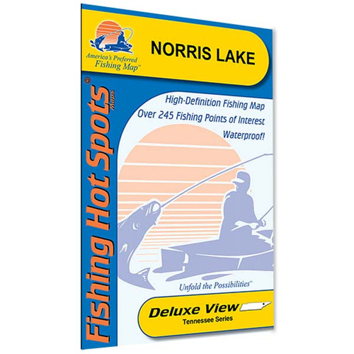 Norris lake fishing map wholesale marine for Norris lake fishing