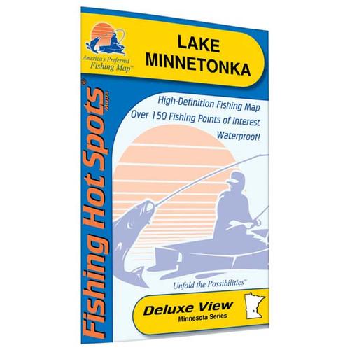 Lake Minnetonka Fishing Map