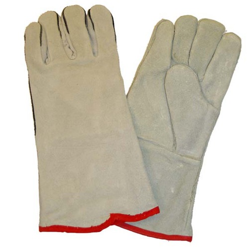 Shrinkwrap International Leather Shrink Wrapping Gloves