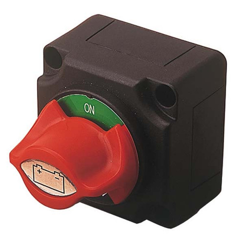 Boat Battery Switch with Knob
