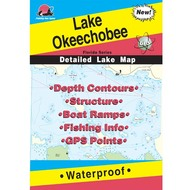 Lake Okeechobee Fishing Map