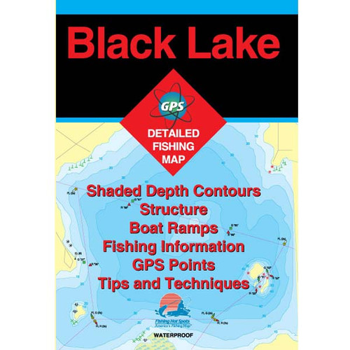 Black Lake Fishing Map