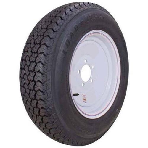 """Loadstar 205/75D14 5 Lug 14"""" Bias Trailer Tire - White"""