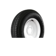 "Kenda Karrier KR03 205/75D14 5 Lug 14"" Radial Trailer Tire - White"