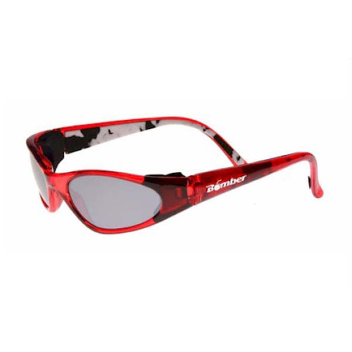Bomber KCR5 K-Bombs Floating Kids Sunglasses Red/Mirror Lens