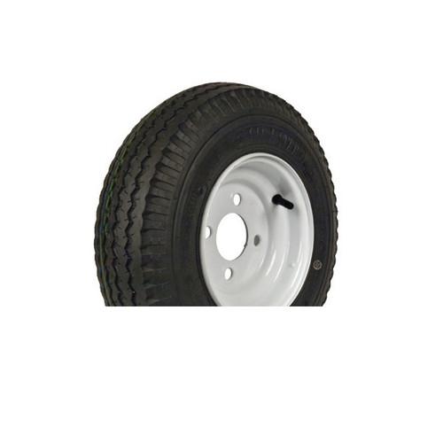 "Loadstar 530-12 4 Lug 12"" Bias Trailer Tire - White"