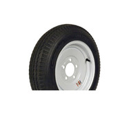 "Loadstar 530-12 5 Lug 12"" Bias Trailer Tire - White Load Range C"