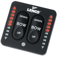Lenco Marine LED Tactile Trim Switch With Retractor