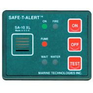 Marine Fume, Fire, Flood Detector