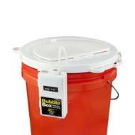 Universal 5 Gallon Lid with Bubble Box Aerator