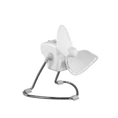 "7"" Caframo Chinook  Fan, 2 Speed-White"