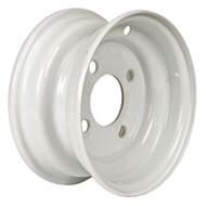 "Loadstar 4 Lug 8"" Rim Only - White"