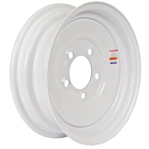 "Loadstar 5 Lug 8"" Rim Only - White"