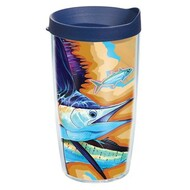 Tervis Guy Harvey Sailfish Wrap Tumbler with Black Lid 16oz
