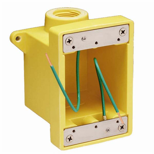 "Marinco FD Outlet Box with 3/4"" K.O. Holes"