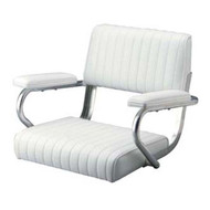 Garelick Multipurpose Boat Pedestal Seat with Arms
