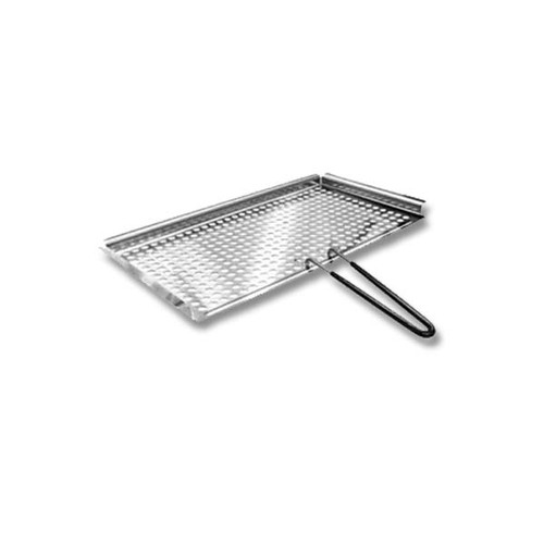 "Magma Marine Stainless Steel 8""x17"" Fish and Veggie Tray"