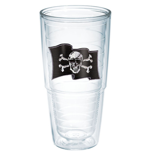 Tervis Pirate Flag/Bones Tumbler 24oz