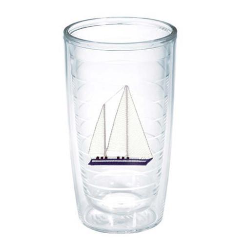 Tervis Blue Sailboat Tumbler 16oz