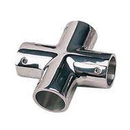Sea Dog 4-Way Stainless Steel Hand Rail Tee