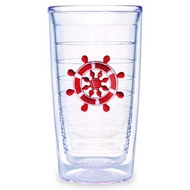 Tervis Red Ships Wheel Tumbler 12oz