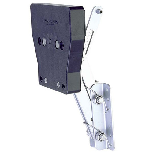 Garelick Aluminum Auxiliary Motor Bracket for 2-Stroke 7.5 to 12HP Motors 71042