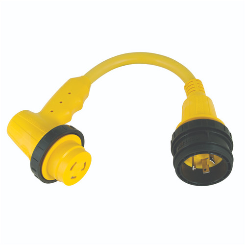 Marinco 30A  Right Angle Cordset Adapter