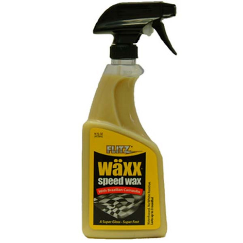 Flitz Super Gloss Spray Speed Wax, 16 Oz.