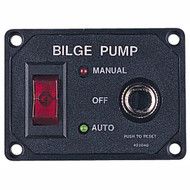 Sea Dog Bilge Pump Switch Panel w/ Circuit Breaker