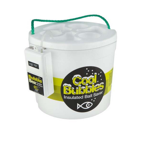 Cool Bubbles Styrofoam 8QT Bucket w/B-11 Pump
